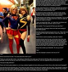 Cosplay body swap (Jenni Makepeace) Tags: fetish transformation magic tgirl sissy caption captions mtf tgcaptions tgcaption