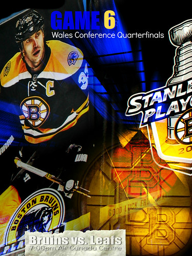 bruinsBannerCombo2Type | Game 6 Eastern Conference Quarterfinals