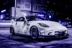 Because Racekor. (CullenCheung) Tags: nissan 350z d2 volk hks bbk amuse status z33 nardi defi voltex re30 aprracing aerojacket