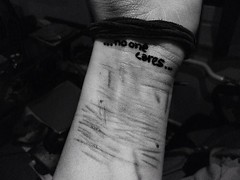 No One Cares. (-_Hopeless_-) Tags: one cares fuck no den cutting gegen schmerz ritzen uploaded:by=flickrmobile flickriosapp:filter=nofilter