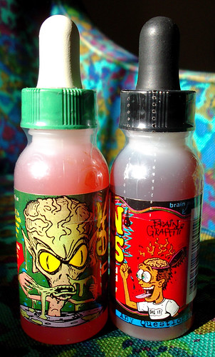 Generation Foods Liquid Candy Brain Drips Alien Drool yUm!!!