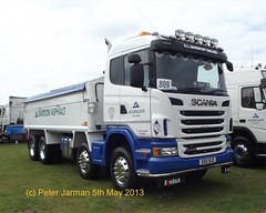 S50 SLD (PeterJarman2001) Tags: truck tipper lorry bld asphalt davenport peterborough s50 scania bardon truckfest g440