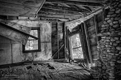 Elkmont Study I (John C. House) Tags: monochrome nikon tennessee nik nationalparks smokies hdr elkmont everydaymiracles d700 johnchouse