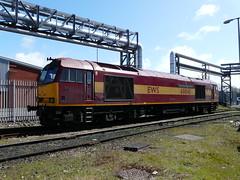 60045 at Bootle Docks 26th April 2013 (Flikrman Gaz) Tags: tug class60 bootledocks dbschenker