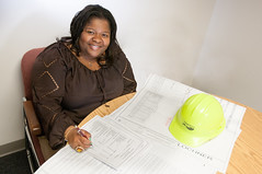 D5657_CM-74edit (MoDOT Photos) Tags: hardhat female tamara missouri plans engineer employee pitts multimodal modot bycathymorrison