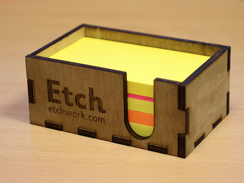 Branded Post-it holder