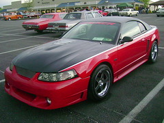 2000-01 Ford Mustang GT (splattergraphics) Tags: 2001 ford 2000 mustang mustanggt customcar cruisenight glenrockpa marketsatshrewsbury