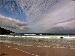Playa Rapadoira (celicom) Tags: costa naturaleza azul atardecer mar agua playa paseo galicia turismo pesca lugo cantabrico amaria costalucense
