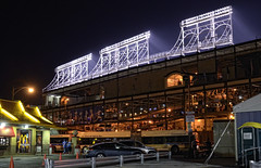 After The Game… (Wes Iversen) Tags: chicago sports lights baseball stadiums restaurants mcdonalds wrigleyfield chicagocubs wrigleyville odc nikkor18300mm ourdailychallenge
