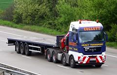 MAN TGX MX09 CFL Collett (gylesnikki) Tags: blue truck artic stgo collett heavyhaulage