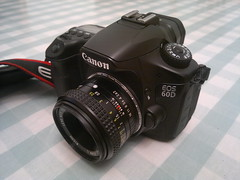 Canon EOS 60D  - PK Fit XR Rikenon F2 50mm L (TempusVolat) Tags: camera slr canon lens eos 50mm prime nokia mr body l f2 pk ricoh gareth xr fit n8 tempus rikenon morodo 60d volat mrmorodo garethwonfor tempusvolat