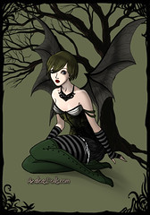 Cyrah Dark Fairy (Hallowtween RP) Tags: dark fairy cy gamesmaster cyrah hallowtween ecklesen cyrahecklesen