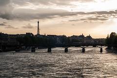 Abends an der Seine