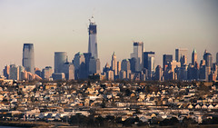 New York over Jersey City PW (Valentinian) Tags: newyork skyline jerseycity day manhattan clear newyorkskyline newark hazy bayonne