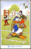 A disney cricket postcard - Cricinfo was bought by Disney-owned ESPN in 2007