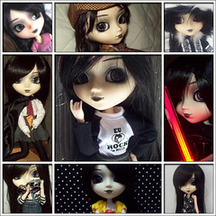 Happy b-day, Kim!! (SweetLuly) Tags: dolls pullip kimberly aniversrio chill obitsu cancanwig 25cm pullipchill