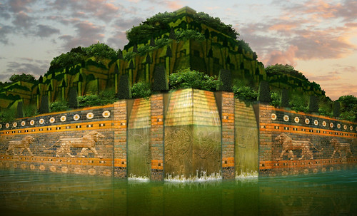 "Jardines colgantes de Babilonia • <a style=""font-size:0.8em;"" href=""http://www.flickr.com/photos/30735181@N00/8744285837/"" target=""_blank"">View on Flickr</a>"