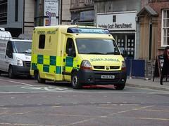 MX06FNA (peeler2007) Tags: ambulance renault master 999 nwas renaultmaster northwestambulanceservice mx06fna