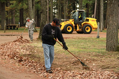 Camp Ripley celebrates Earth Day with hard work (Minnesota National Guard) Tags: minnesota littlefalls unitedstates earthday campripley minnesotanationalguard