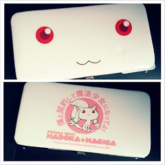 I was able to turn a friend into a fan of Modoka, so I got her a new wallet as a wedding present 'cause she just got married last week. #MadokaMagica #PuellaMagiMadokaMagica #Kyubey #wallet #magicalgirl #mahoushoujo #contract (MisledYouth74) Tags: square squareformat normal iphoneography instagramapp uploaded:by=instagram