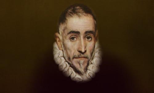 """Hidalgo Ibérico, expresión de Doménikus Theokópoulos el Greco (1597), transcripción de Pablo Picasso (1971). • <a style=""""font-size:0.8em;"""" href=""""http://www.flickr.com/photos/30735181@N00/8746814855/"""" target=""""_blank"""">View on Flickr</a>"""