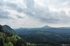 view (Dirk Hoffmann Fotografie) Tags: wood clouds forest germany landscape schweiz nationalpark view saxony schsische