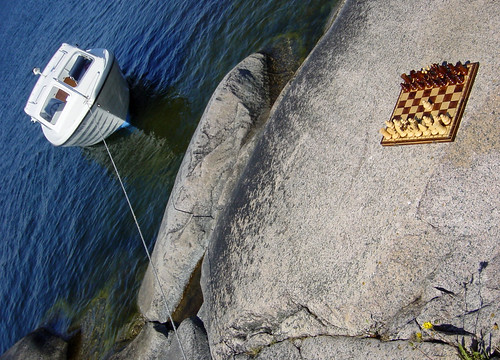 Chess on the Rocks