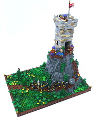 Fly, Garhims! (main) (Simon S.) Tags: castle classic lego bricks lands classiccastle loreos garheim