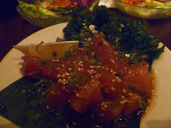 ahi poke (taromyheart) Tags: japanese hawaii sashimi seafood honolulu