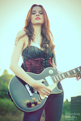 IMG_0076 (Marckos Paulo) Tags: road sunset red brazil woman green girl beauty rock train canon hair guitar amp foliage redhear
