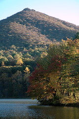 012 - Peaks of Otter (Scott Shetrone) Tags: mountains forest virginia scenery events lakes places fallfoliage 8th blueridgeparkway anniversaries peaksofotter