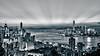 Hong Kong Cold Tone (arjalvaran) Tags: city skyline hongkong asia cityscape nightshot northpoint benro citynightshot braemarhill 1855mmnikkor oloneo hdrengine