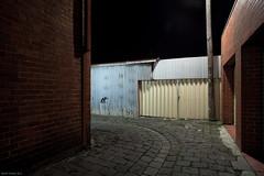 Come In (Ranga 1) Tags: longexposure nightphotography light urban wall night canon fence alley streetlight nocturnal fitzroy australian peaceful australia melbourne victoria explore lane tranquil urbanlandscape nightexposure davidyoung ef1740mmf4lusm innersuburbs canoneos5dmarkii