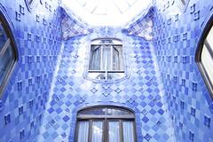 blue (AYUMI-TURQUOISE) Tags: barcelona blue casa spain blu turquoise federica barcellona ayumi spagna pagano batlló