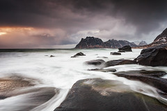 UTTAKLEIV (~~~johnny~~~) Tags: sea art wet interesting moody mark wide arctic lofoten 1740mmlf4 uttakleiv articart canoneos5dmarkll leefilters09and075softgradsstacked visitnorthernnorway