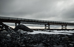 Lneas (Anthony Dexter) Tags: road winter snow march iceland olympus ep1