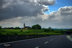 Along the Road (fs999) Tags: road blue sky church paintshop highway pentax strasse himmel bleu route ciel da paintshoppro 40 40mm xs blau luxembourg ontheroad luxemburg k5 topaz corel adjust mondorf aficionados pentaxist da40 artcafe ontheroadagain surlaroute ltzebuerg 80iso topazlabs pentaxian elitephotography ashotadayorso justpentax topqualityimage zinzins flickrlovers topqualityimageonly fs999 fschneider pentaxart pentaxk5 adjust5 da40xs pentaxda40mmf28xs x5ultimate paintshopprox5ultimate