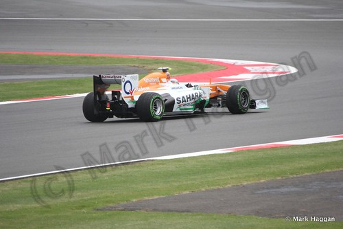 Adrian Sutil in Free Practice 2 at the 2013 British Grand Prix