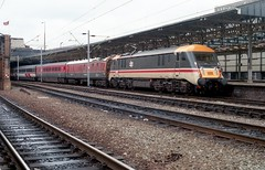 89001 Crewe 1-5-87 (6089Gardener) Tags: brush crewe coco class89 89001 brresearch brelinternationaltrain