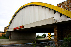 World's Largest McDonald's (-1badgmc-) Tags: road oklahoma sign route66 highway arch mcdonalds interstate worldslargest vinita i44 us66 interstate44