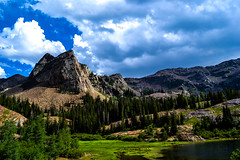 Lake Blanche and Sundial PK-47 (ddalderphoto) Tags: trees lake mountains forest peak sundial blanche