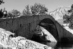 (Eleanna Kounoupa) Tags: blackandwhite greece crete stonebridge rethymnon preveli   blackwhitephotos