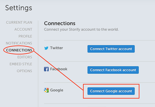 Connect Google