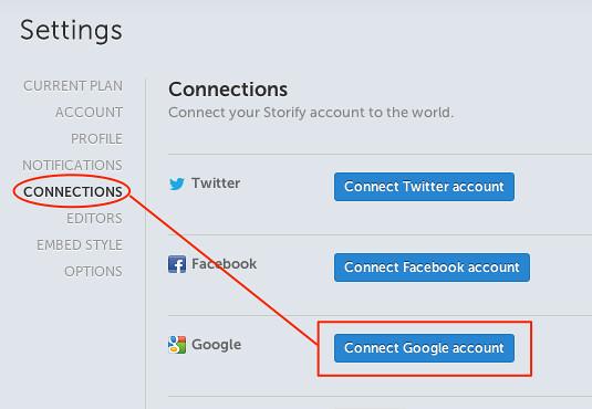 Connect Google