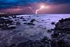 Atlantic Seastorm (S.T.A.R.S) Tags: strand meer wasser himmel wolken blitz küste felsen atlantik sturm brandung ozean