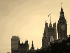 Houses of Parliament (tkspencer) Tags: london tower clock flag housesofparliament parliament bigben clocktower unionjack flickrandroidapp:filter=ocelot