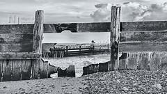 A Hole in the Defences V2 (Nigel Jones LRPS) Tags: sea beach hole groyne defence sheppey shellness