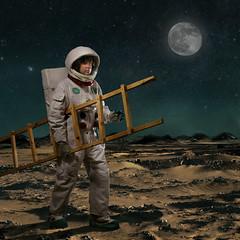 Midnight Reverie (Pennan_Brae) Tags: moon dream astronaut fantasy