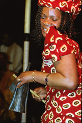 Gifty NaaDK from Ghana Etome Vocalist at the Africa Centre London March 2001 050 (photographer695) Tags: gifty from ghana africa centre mar 2001 sophie dancing naadk etome vocalist london march
