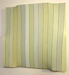Golden Zaxon (kolazinski) Tags: black geometric painting square golden shadows pov pointofview edge 3dart straight sculptural zaxxon linear kolazinski pushandpullpainting